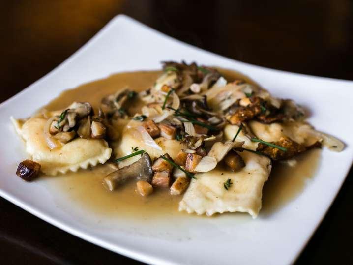 Mushroom Ravioli From Scratch