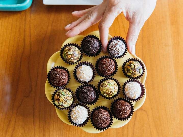 Superfood Chocolate Ganache Truffles