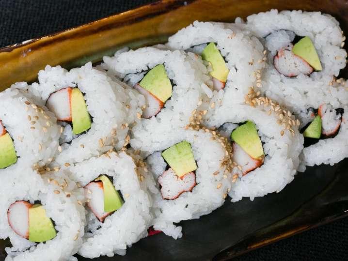Homemade Sushi Rolls