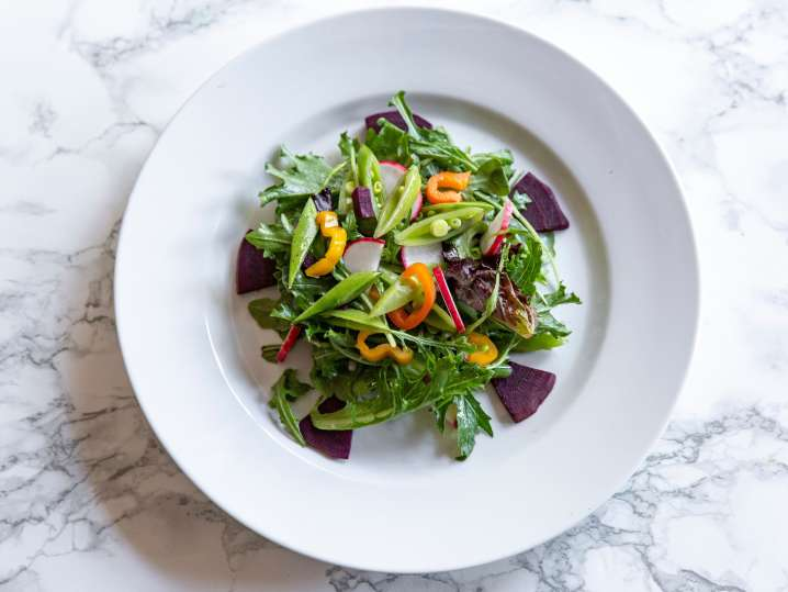 seasonal chopped salad