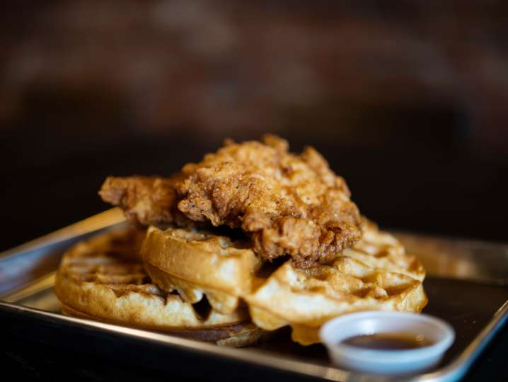 Southern Style Chicken and Waffles