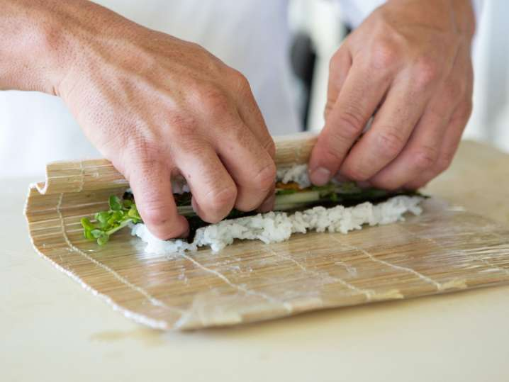 Fort Lauderdale - chef rolling vegetable sushi.jpg