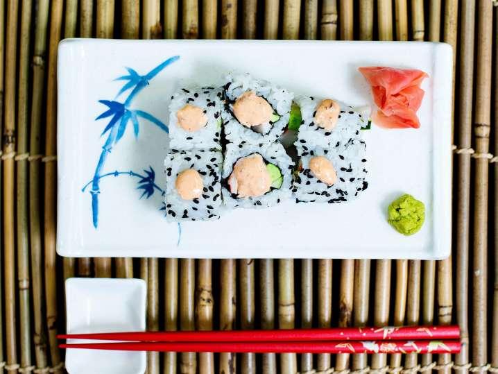 California Style Sushi Rolls