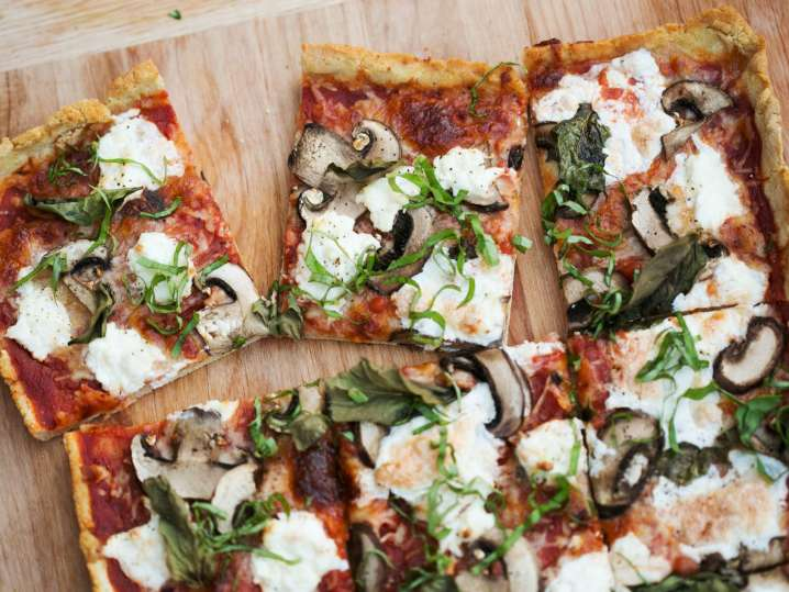 Flatbread Pizza From Scratch