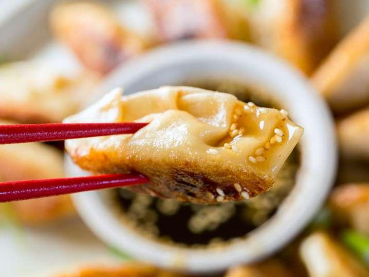 Crispy Korean Potstickers