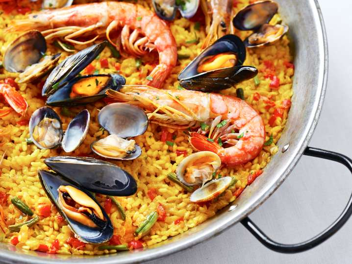 Spanish Paella From Scratch