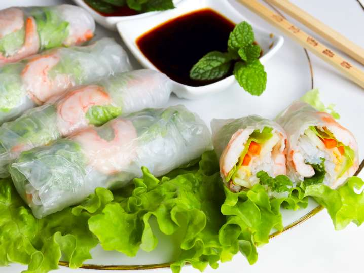 Fried and Fresh Spring Rolls Made Simple