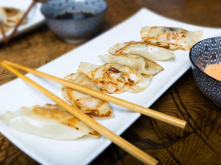 Handmade Dumplings and Potstickers