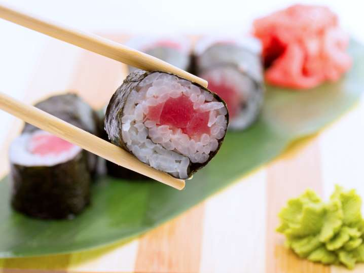 The Art of Handmade Sushi Rolls