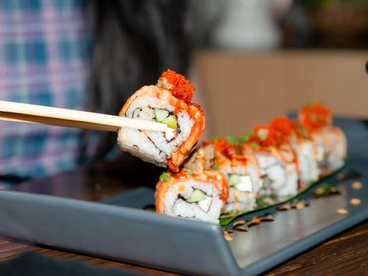 Sushi Rolls Two Ways