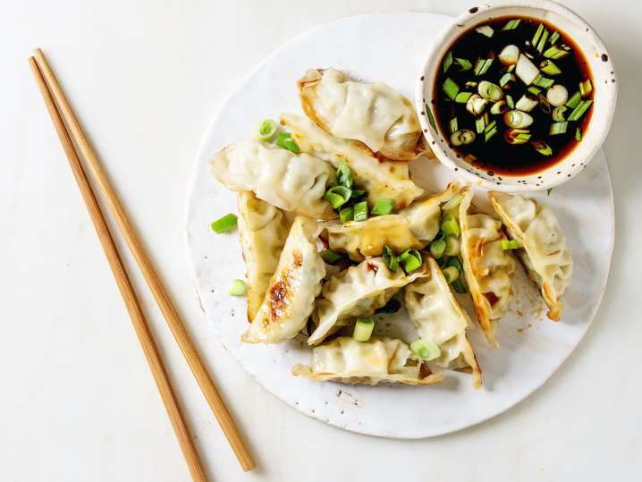 Colorful Chinese Dumplings