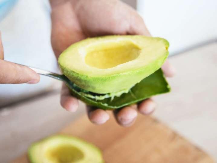 chef and avocado