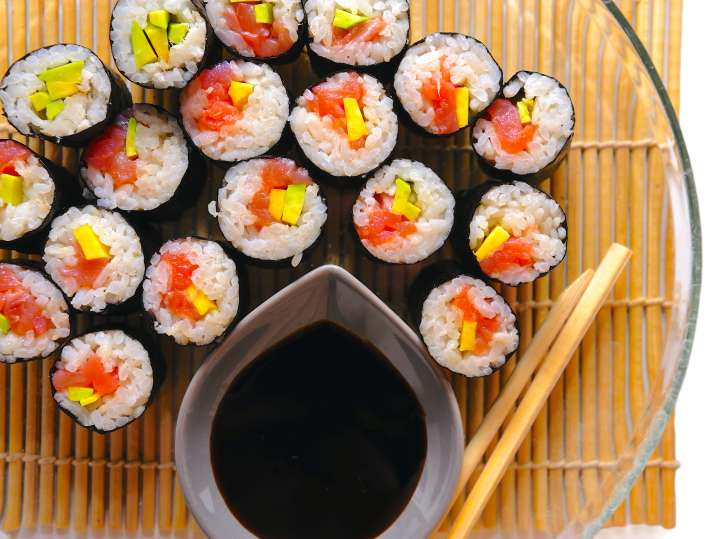 Sushi Rolls From Scratch