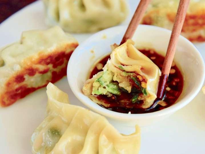 Homemade Asian Dumplings