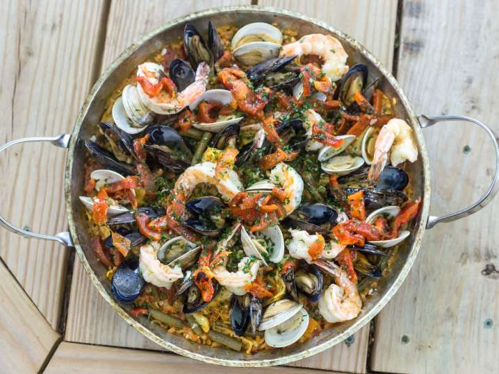 seafood paella | Classpop