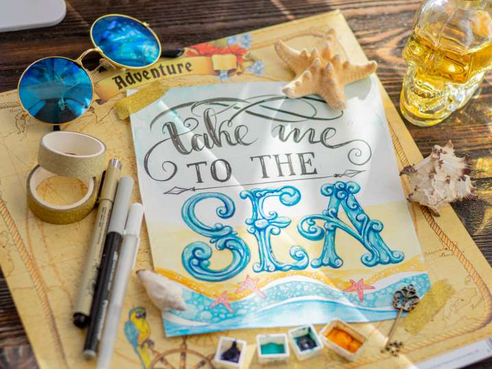 Beginner's Guide to Watercolor Brush Lettering