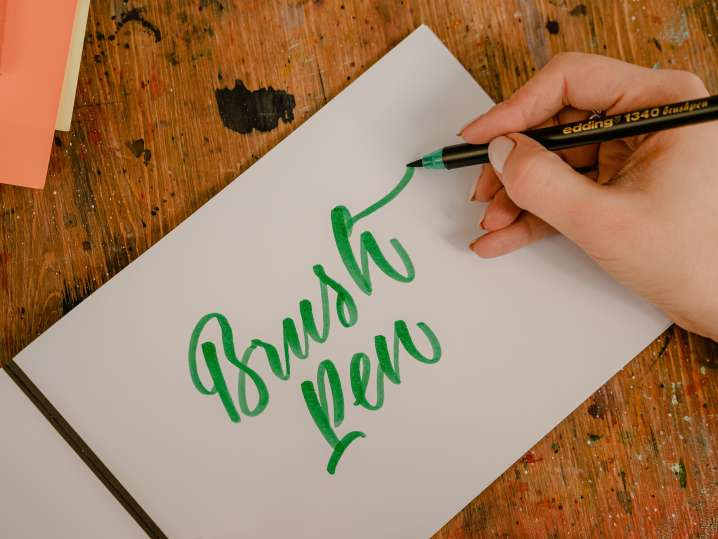 Intro to Brush Pen Lettering