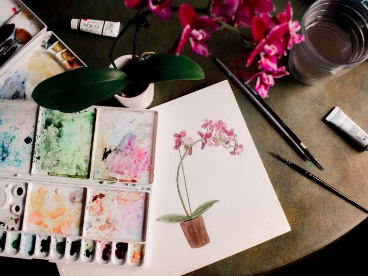 Floral Watercolor Painting for Beginners