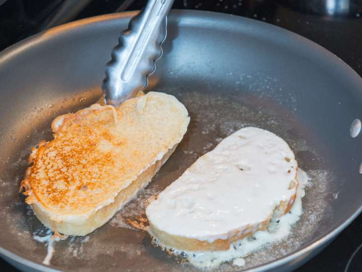 cooking french toast | Classpop