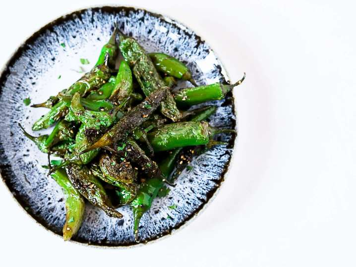 charred shishito peppers | Classpop