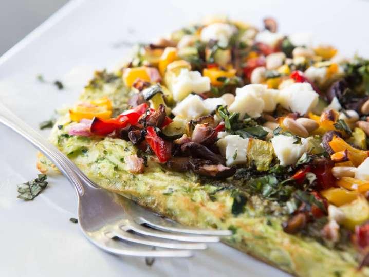 Seasonal Vegetable Omelette | Classpop