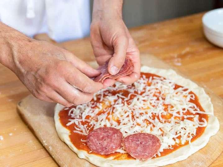 salami pizza | Classpop