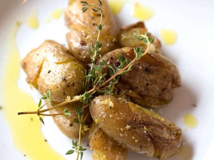 roasted fingerling potatoes   Classpop