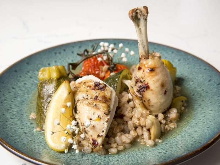 mediterranean chicken with vegetables | Classpop