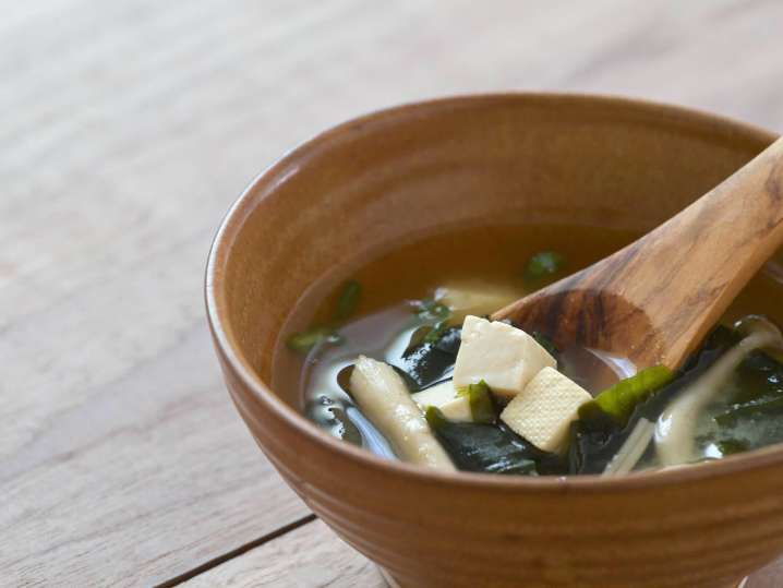 miso soup with tofu | Classpop