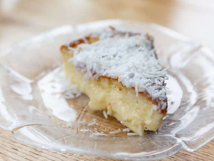 Coconut cream cake | Classpop