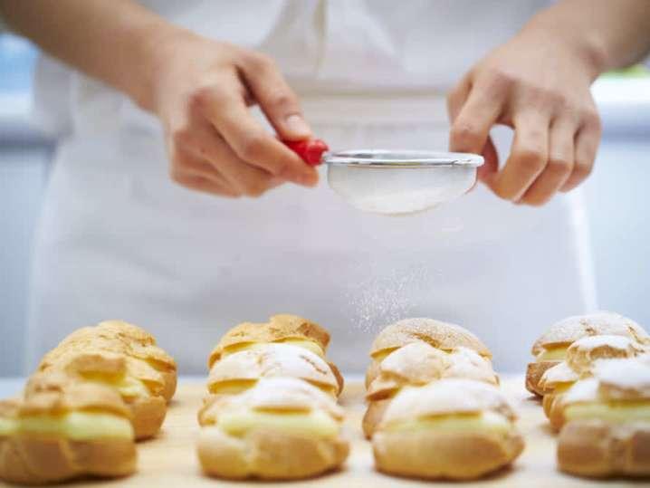 sugaring cream puffs | Classpop