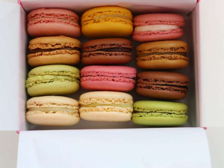 box of macarons | Classpop