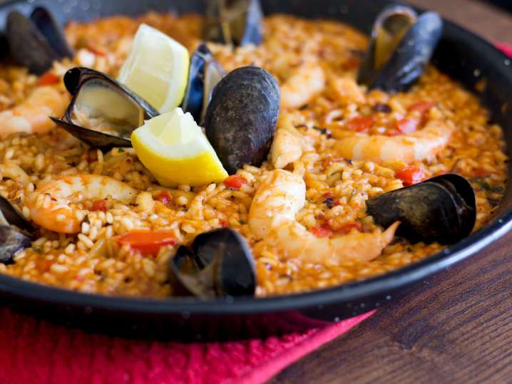 Authentic Paella and Tapas