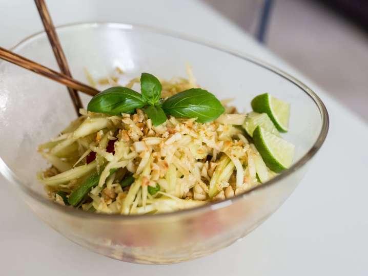 Green Papaya Salad | Classpop