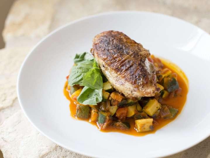 Four-Course Seasonal Italian Meal