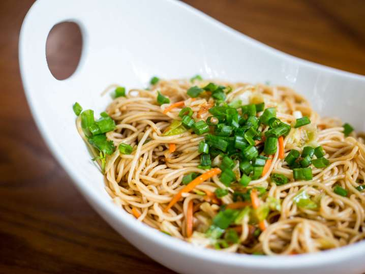Duo of Vegetarian Asian Noodles