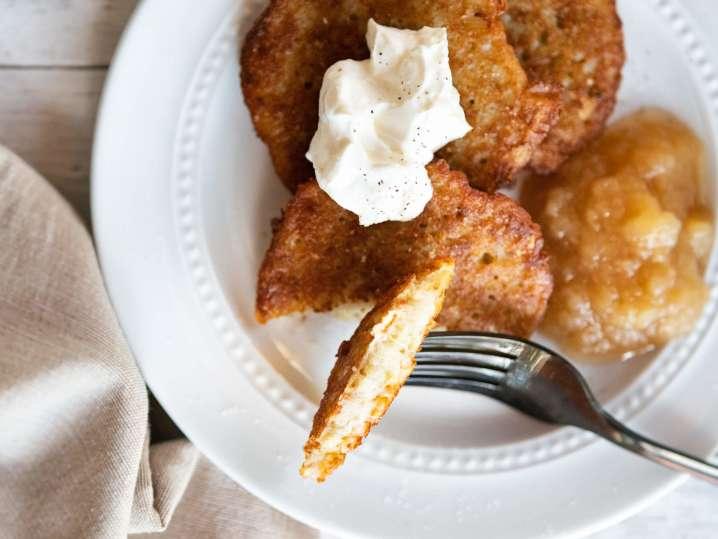Crispy Potato Pancakes for Hanukkah