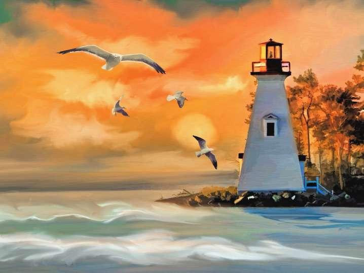 Online Watercolor Art Class: Seascapes