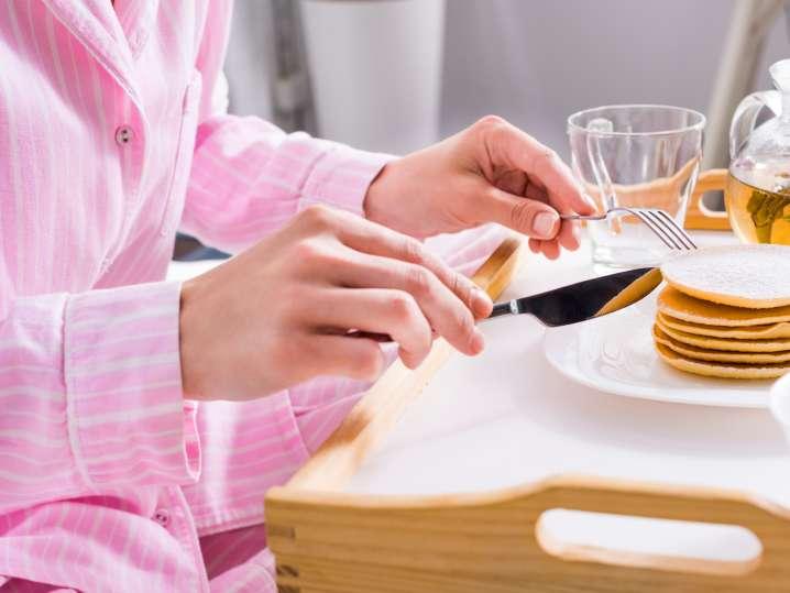 Pancakes and Mimosas Pajama Brunch