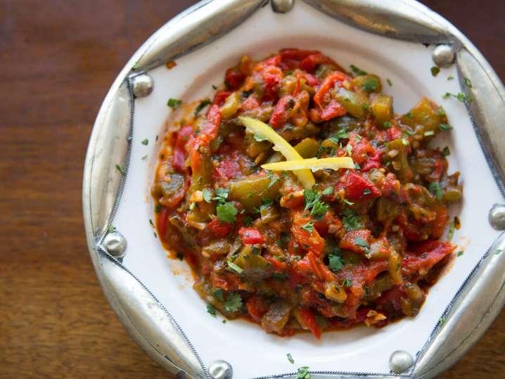 Red Peppers Dish   Classpop