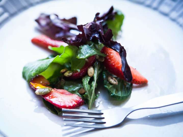 strawberry salad | Classpop