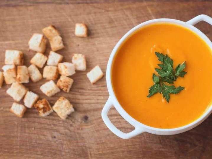 carrot ginger soup | Classpop