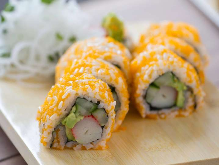 Fresh and Easy Sushi Rolls
