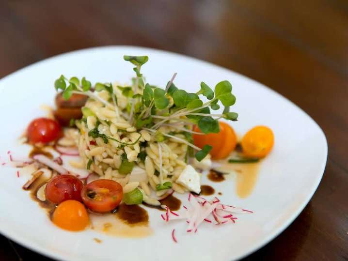 Warm Orzo With Basil and Jersey Tomatoes   Classpop