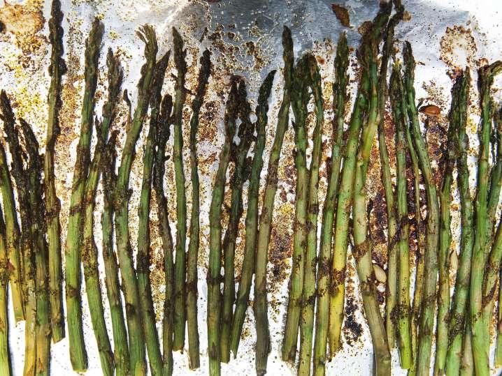 roasted asparagus   Classpop