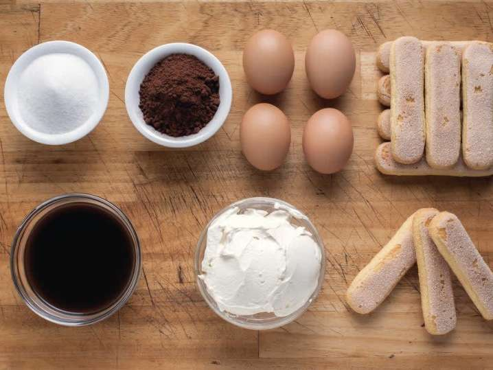 tiramisu ingredients | Classpop