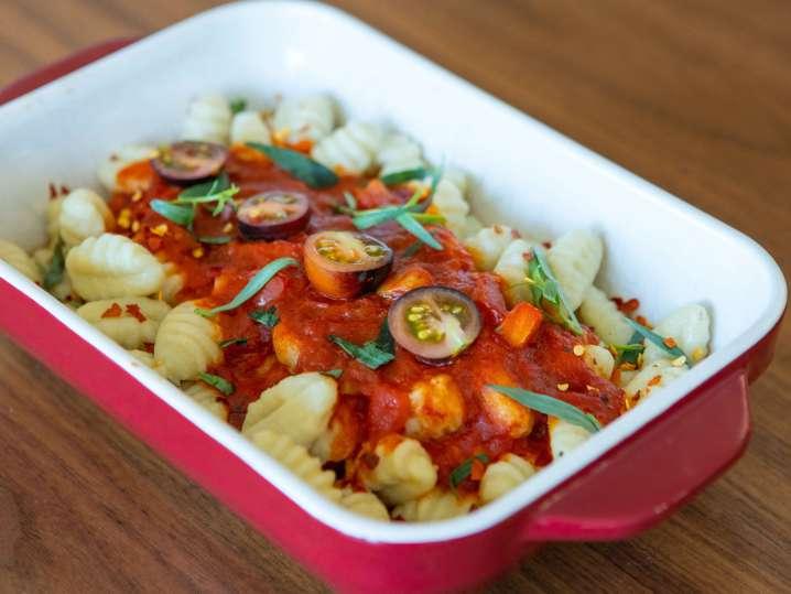 Gnocchi and Sauces