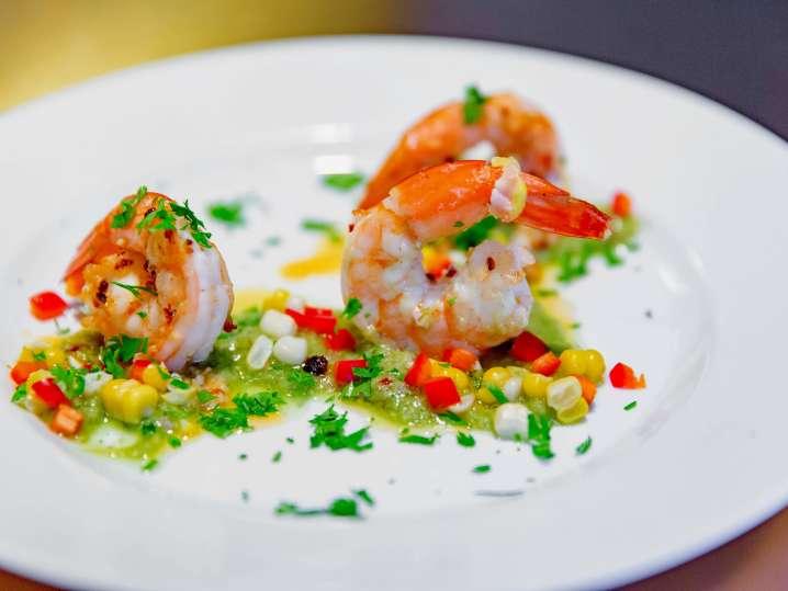 Island-Inspired Seafood Menu