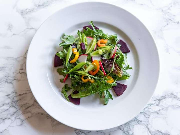 farmer's greens salad   Classpop