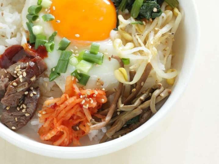 Traditional Korean Dinner